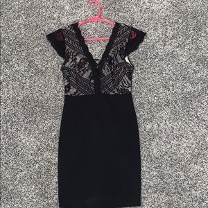 Charlotte Russe Lace Bodycon Dress